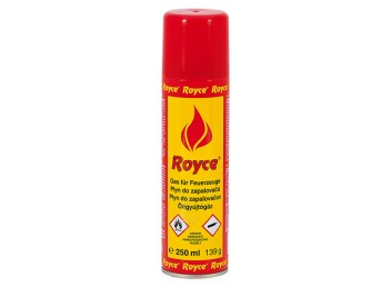Plyn do zapalovačů ROYCE 250 ml